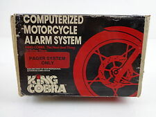 Harley Davidson Computerized Motorcycle Alarm System King Cobra