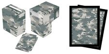 Ultra Pro Arctic Camo Deck Box & Sleeves 100ct.