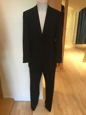 Roy Robson Men's Suit Size 44/R BNWT Black RRP £297 Now £104