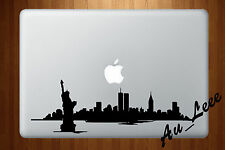 Macbook Air Pro Vinyl Skin Sticker Decal New York City Building Skyline #MAC456