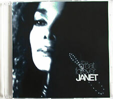 "JANET JACKSON - VERY RARE 2 TRACKS EUROPEAN PROMO SINGLE CD ""THE GREAT FOREVER"""
