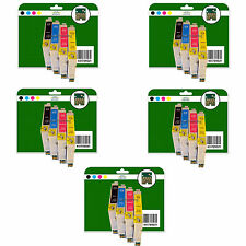 20 Ink Cartridges for Epson DX3800 DX3850 DX4800 DX4850 non-OEM E611-4