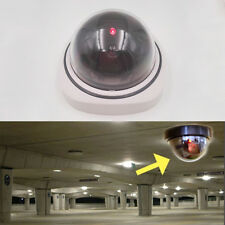 1 PCs Fake Dummy Dome Surveillance Security Camera CCTV w/ Record Flash Light