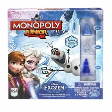 Monopoly Junior Game Frozen Edition , New, Free Shipping