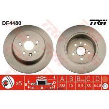 Bremsscheibe, 1 Stück TRW DF4480