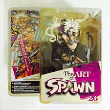 "MCFARLANE THE ART OF SPAWN 26 "" TIFFANY 3 ISSUE 45 ART "" - RARE"