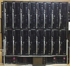 16 x HP ProLiant BL460c G6 Blade 32 x SIX-CORE X5650 1536Gb Memory Servers