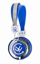 Urbanz ZIP Cuffie auricolari in ear DJ PORTATILE PER IPOD IPHONE DVD-BLU