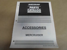 1991 Quicksilver Parts Catalog Accessories Mercruiser OEM Boat 90-42000