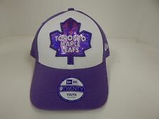 New Era 9Twenty Toronto Maple Leafs Light Purple/White Youth Adjustable Velcro