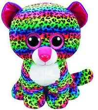 TY Beanie Boos Dotty Multi Colored Leopard (Large)