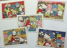 Sanrio Promo Hello Kitty & Friends 5 Postcard Set Back to School Class of 2016