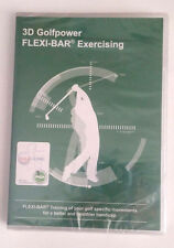Flexi-Bar 3D Golfpower Exercising DVD English Markus D. Gunsch NEW *LOOK*
