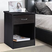 Night Stand Bedroom Stand Bedside Furniture Drawer Sturdy Storage