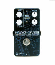 NEW KEELEY ELECTRONICS HOOKE REVERB FUTURISTIC REVERB GUITAR EFFECTS  PEDAL
