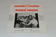 Ridin' Along With Johnny Cooper and the Range Riders~Private Press~FAST SHIPPING