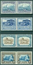 SOUTH AFRICA : 1933-48 Stanley Gibbons #58a, 59, 62, 64ca. 4 Key Values from set