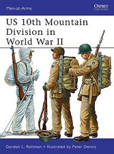 Osprey Men at arms 482: US 10th Mountain Division in World War II / NEU