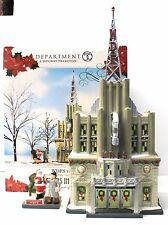 Department 56 Christmas In the City WDFS Radio Retired 4016899 with Santa Live