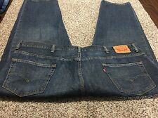 LEVI'S 550 RELAXED FIT DESIGNER MEN'S JEANS SIZE 50X30