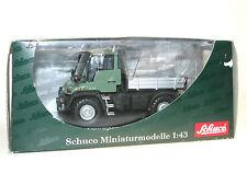 Schuco 04641, Mercedes-Benz Unimog U 300 Pritsche, grün/silber, 1/43 OVP