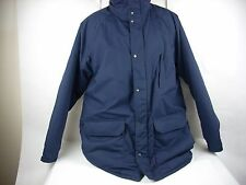 The King-Size Co Coat Jacket Blue Warm Plaid-Lined Big Tall Man Men's XL Winter