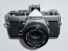 Olympus OM-1n MD 35mm Film SLR Manual Camera w/ Olympus 50/1.8 ZUIKO Lens  Ex+++