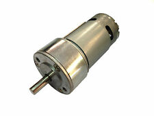 12v DC Tauren Gear / Geared Motor 30 RPM - High Torque
