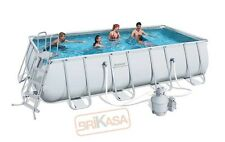 PISCINA BESTWAY TELAIO METALLO 549X274X122H 56256 POWER STEEL FRAME + ACCESSORI