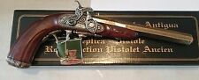 "NIB 1807 English Percussion Dueling Full Scale 13"" Flintlock Cap Firing"