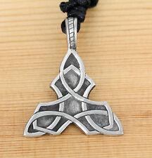 Halskette  Anhänger Zinn celtic -  Keltisch Triquetra  Dreifaltigkeit