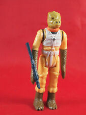 Vintage Star Wars Bossk Action Figure Complete w/ Weapon 1980