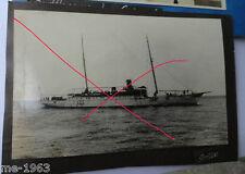 original Foto Schiff Marine  Grille Zweimaster