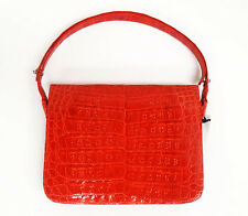 Nancy Gonzalez Coral Crocodile Mini Tote Bag Y177
