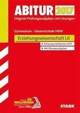 Abiturprüfung NRW 2017 - Erziehungswissenschaft LK (2016, Taschenbuch)