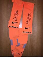 TOTTI AS ROMA UDINESE CALZETTONI SOCK MATCH WORN ISSUED SHIRT MAGLIA INDOSSATA