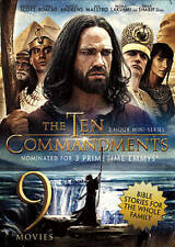New: THE GREAT COMMANDMENTS (9 Family Bible Stories) 3-DVD Set