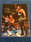 2015 Leaf 8X10 2 DUDES WITH ATTITUDES PHOTO SHAWN MICHAELS and Diesel