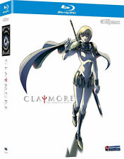 Claymore .. The Complete Series ... Anime ... 3 Blu-ray ... NEU ... OVP