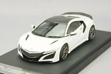 1/43 Mark43 Honda NSX 2016 manufacturer option vehicles equipped white PM4324SW