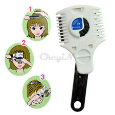 Adjustable Hair Razor Comb Feathering Cutting Blade Hairdressing Trimmer
