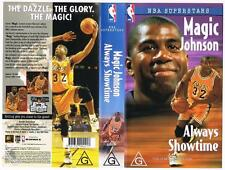 MAGIC JOHNSON - ALWAYS SHOWTIME  **RARE VHS TAPE**  NBA