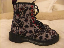 DR MARTENS  MARCELINE CASTEL CANVAS  BOOT KID'S SIZE UK 11 EU 29  ADVENTURE TIME
