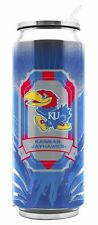 Kansas Jayhawks Stainless Steel Thermo Can - 16.9oz [NEW] Tumbler Coffee