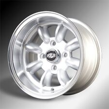 7x 13 superlight wheels classic mini ensemble de 4 argent
