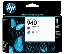 Tête d'Impression Originale HP C4901A 940 Magenta Cyan Genuine Printhead 07/2013