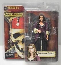 NECA Pirates of the Caribbean Black Pearl ELIZABETH SWANN Action Figure NIP