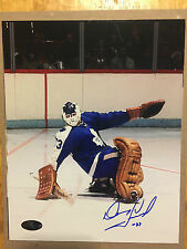 DOUG FAVELL Signed Autographed Toronto Maple Leafs 8x10 NHL Hockey Photo w/COA