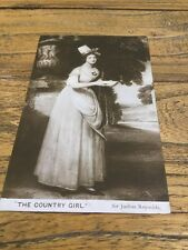 old Postcard The Country Girl Sir Joshua Reynolds