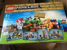 Brand NEW Sealed LEGO Minecraft Crafting Box 21116